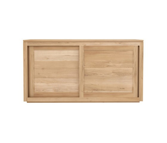 Ethnicraft Oak Pure sideboard 150 cm - 2 sliding doors