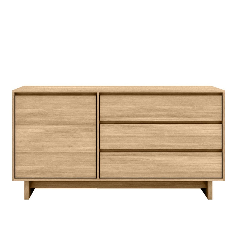 Ethnicraft Oak Wave sideboard 148cm