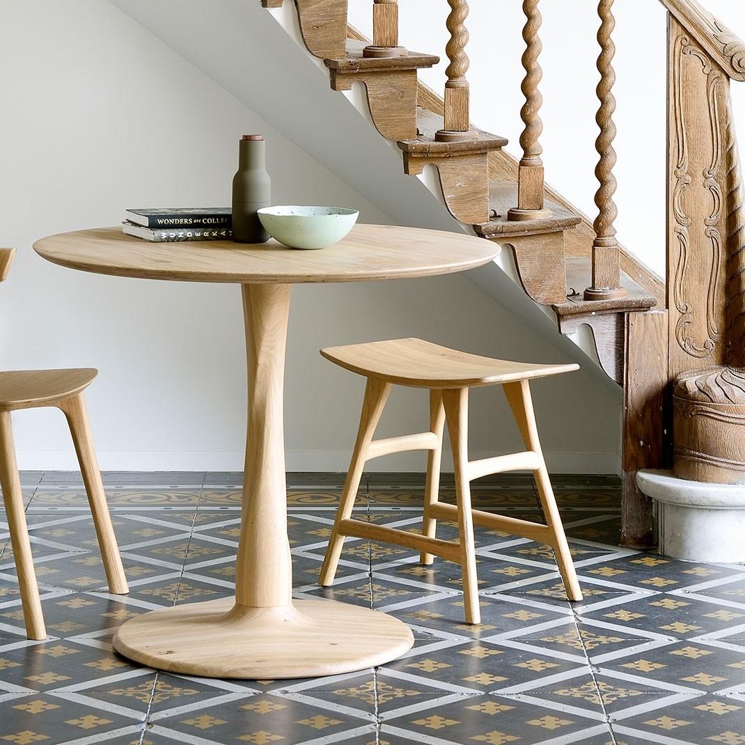 Ethnicraft Oak Osso stool