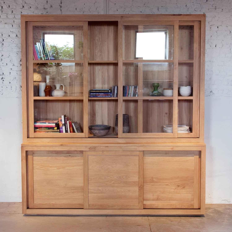 Ethnicraft Pure oak dressers