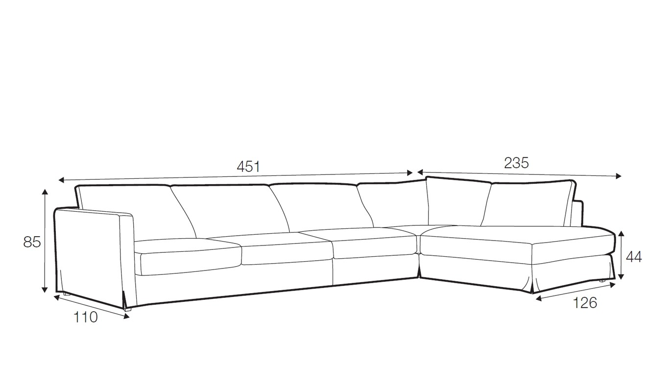 Salci corner sofa - set 5