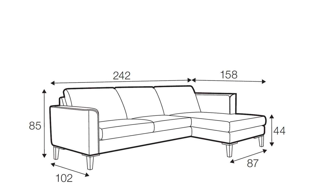 Hacienda corner sofa - set 1