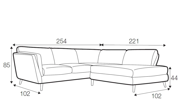 Bryce corner sofa - set 3
