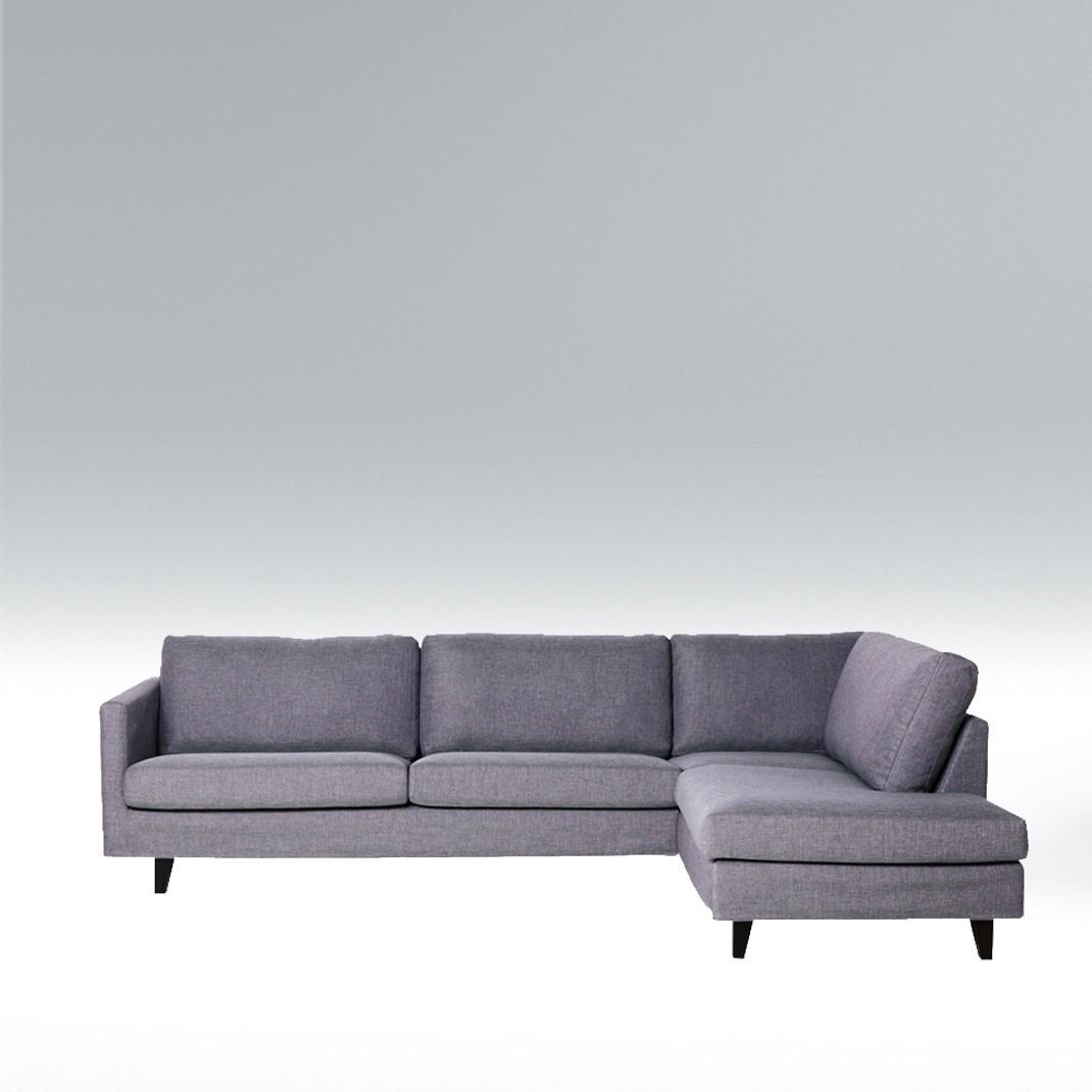 Blade corner leather sofa - set 5