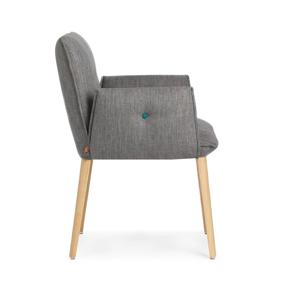 Soda chair H47 with arms