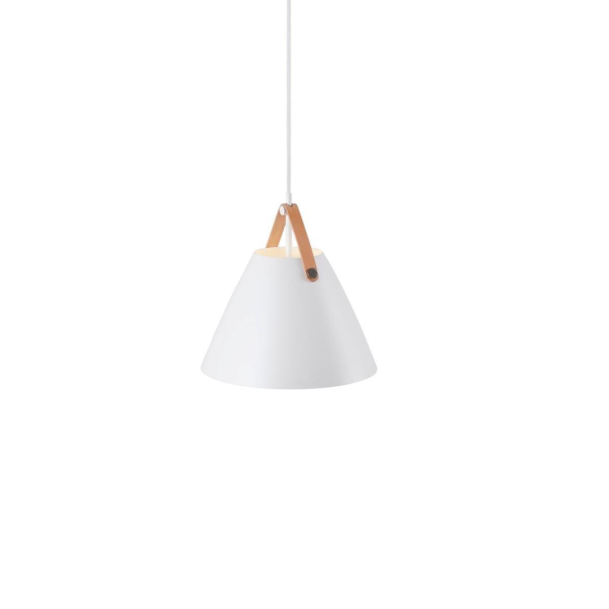 Strap 27 pendant - white