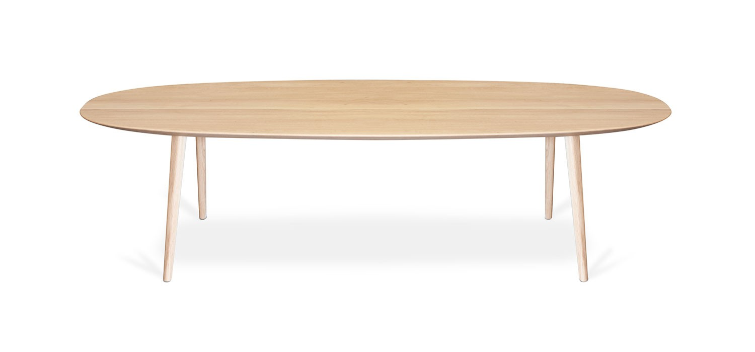 Surf oval coffee tables