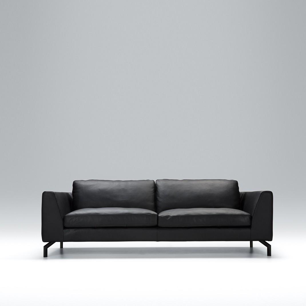 Tahoe 3 seater leather sofa