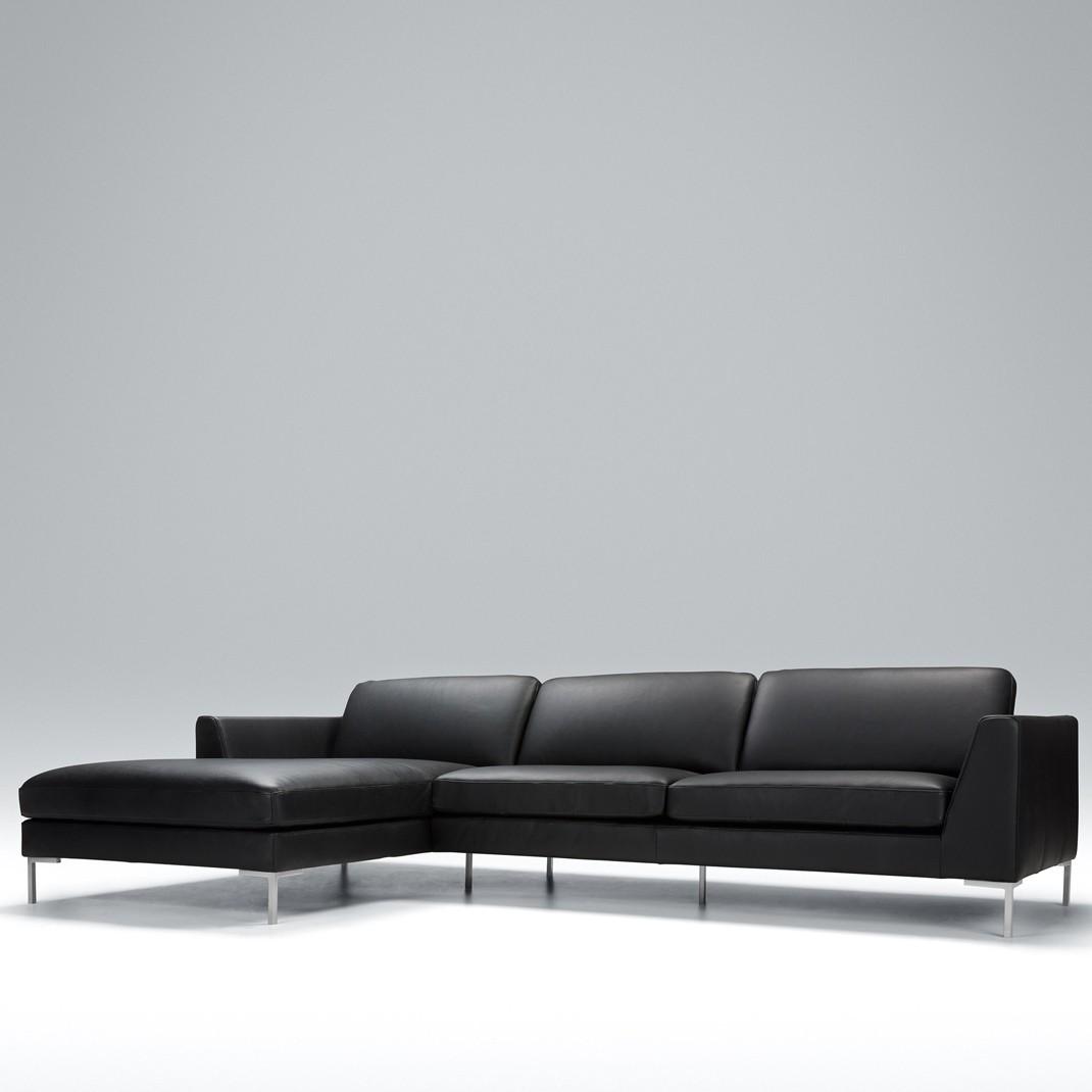 Tahoe corner leather sofa - set 1