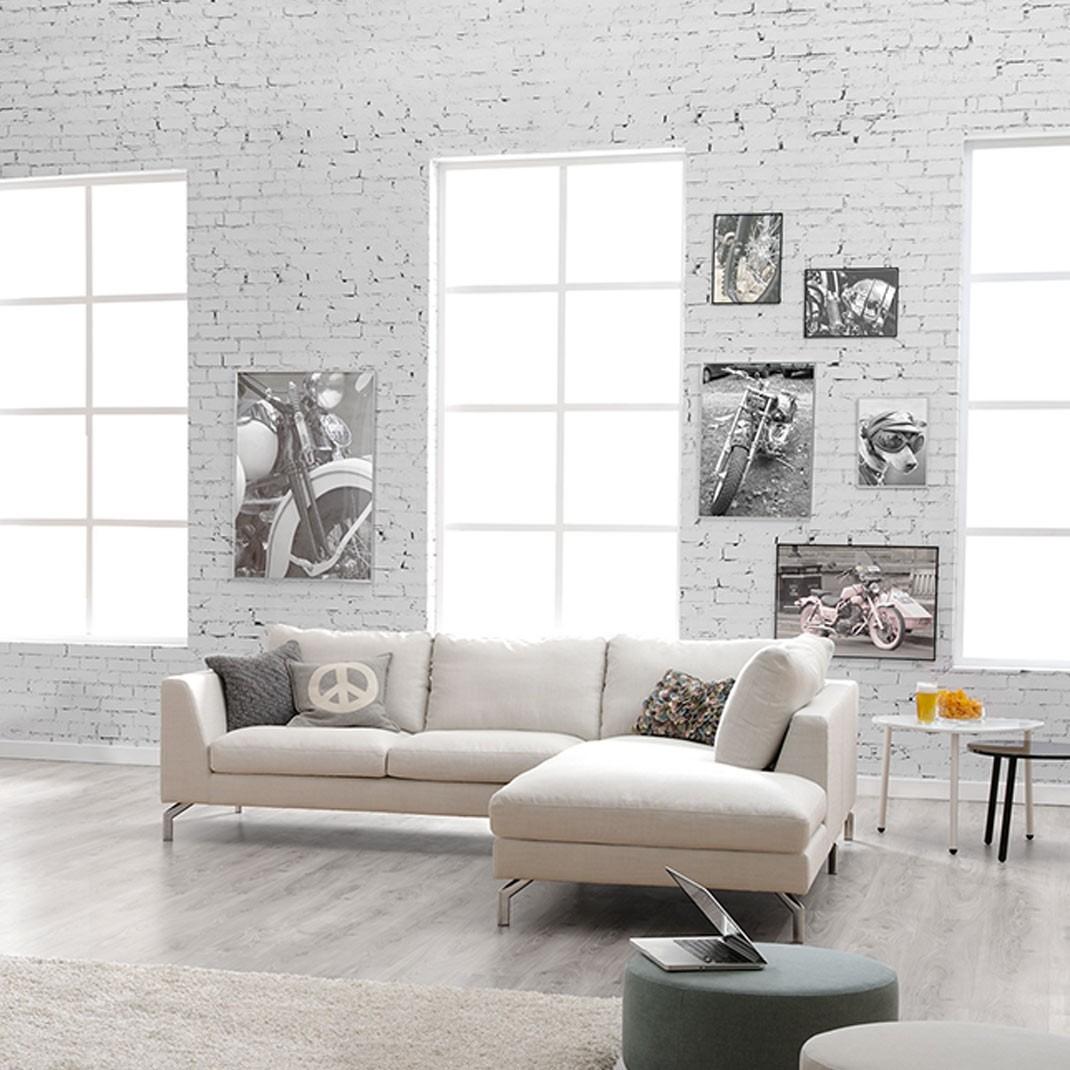 Tahoe corner leather sofa - set 11