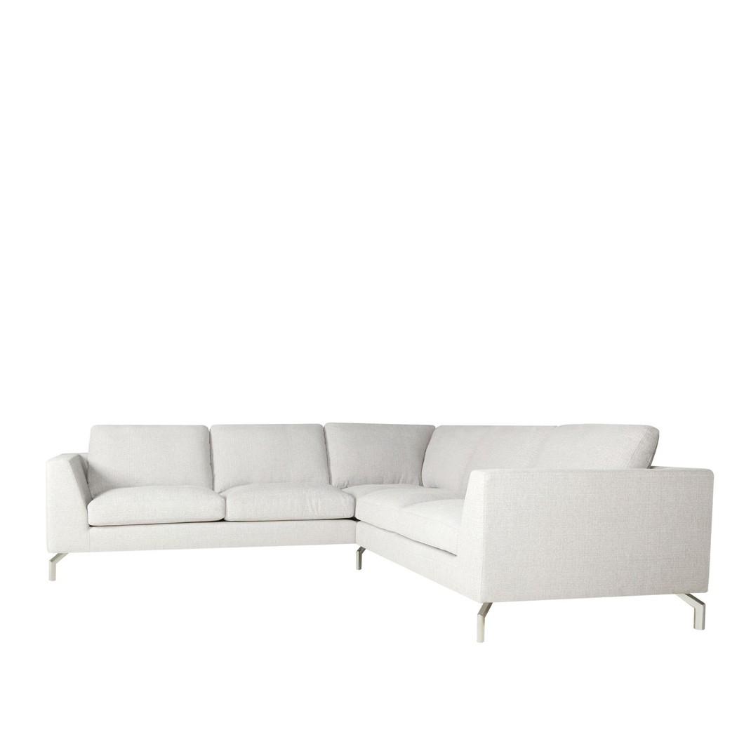 Tahoe corner leather sofa - set 5