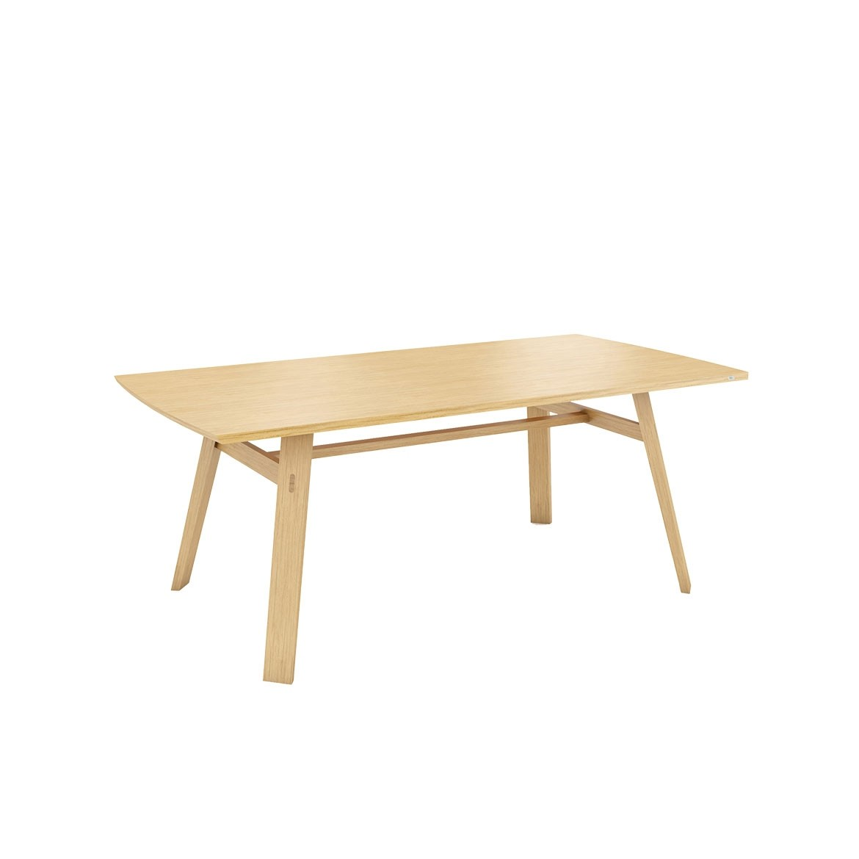 Tate oak dining table