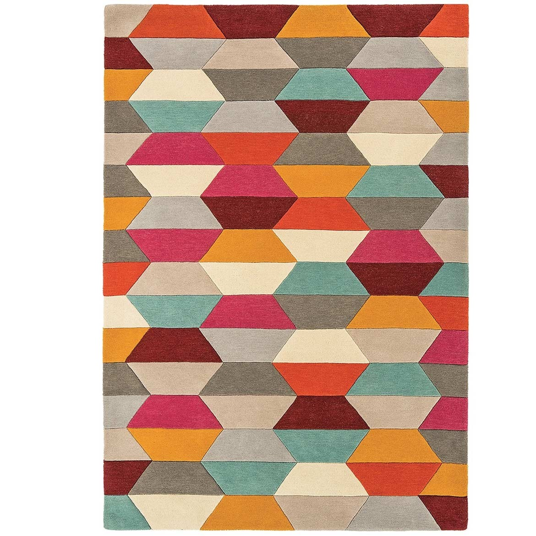 Tetra rug - Honeycombe