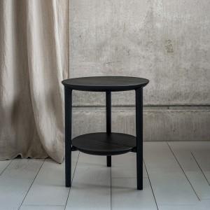 Ethnicraft Bok side table - black oak
