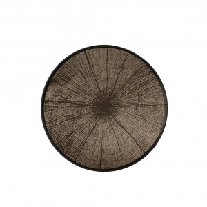 Notre Monde Bronze Slice - Mirror Round Tray - Medium 61cm