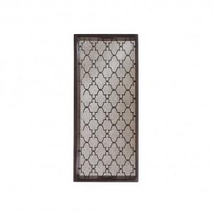 Notre Monde Gate - Mirror Rectangular Tray - Medium 69cm