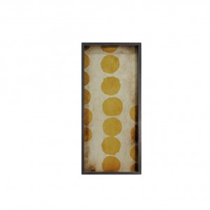 Notre Monde Sienna Dots - Glass Rectangular Tray - Medium 69cm