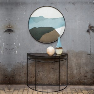 Notre Monde Graphite Wabi Sabi - Driftwood Round Tray - XL 92cm
