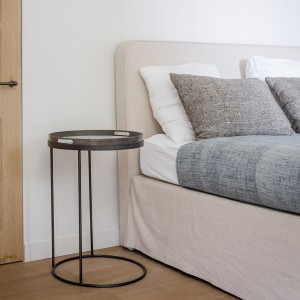 Notre Monde Round Tray Table High