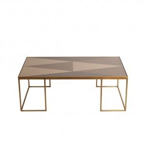 Notre Monde Geometric Rectangular Coffee Table