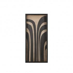 Notre Monde Graphite Curves - Rectangular Driftwood Tray - Medium 69cm