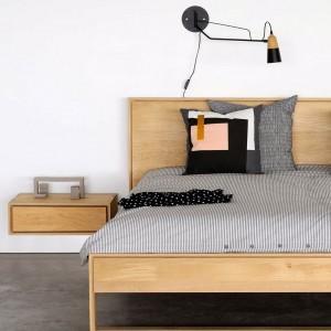 Ethnicraft Oak Nordic II bedside table - hanging