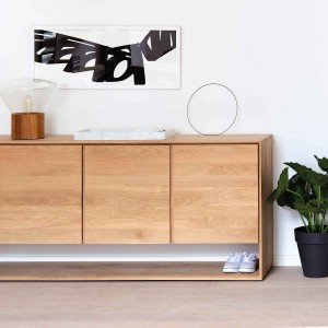 Nordic oak sideboards