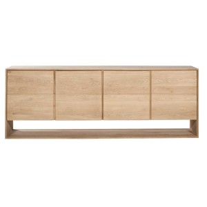 Ethnicraft Oak Nordic sideboard - 4 doors
