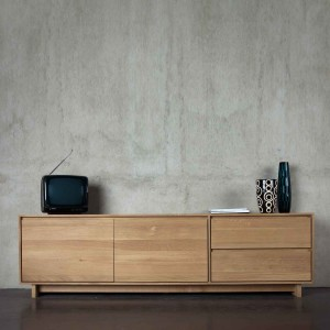 Ethnicraft Oak Wave TV units