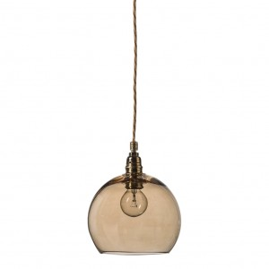 orb-glass-pendant-15-cm-chestnut-brass-wire