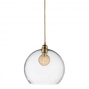 orb-glass-pendant-28-cm-clear-brass-wire