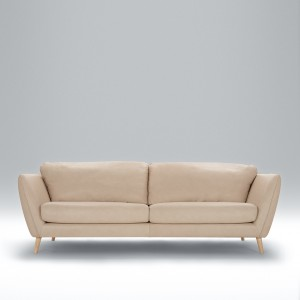 Angel 3 seater leather sofa