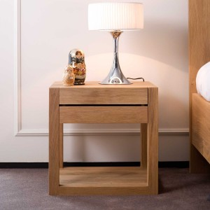 Ethnicraft Oak Azur bedside table - 1 drawer