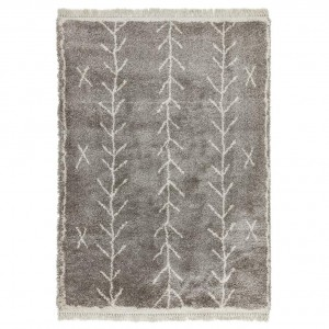 Berber Rug Arrow - Charcoal