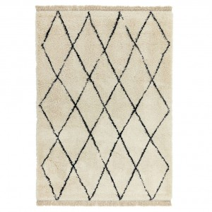Berber Rug Diamond - Cream