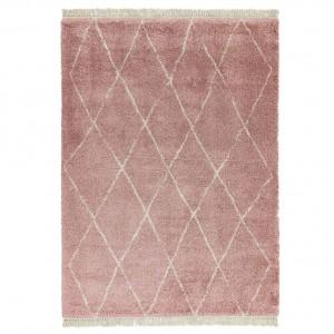 Berber Rug Diamond - Pink