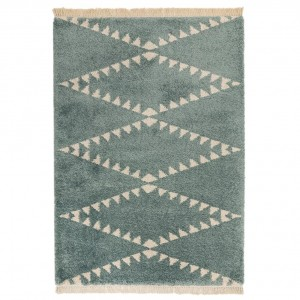 Berber Rug Tribal - Blue