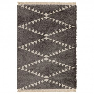 Berber Rug Tribal - Charcoal