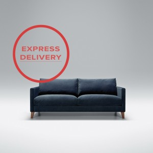 Express - Blade 2.5 seater sofa | Aquaclean Bellis Dark Blue