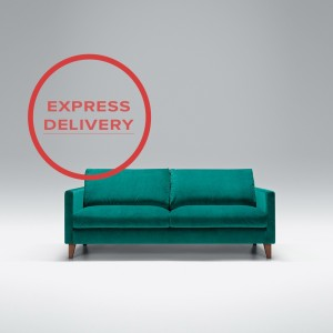 Express - Blade 2.5 seater sofa | Aquaclean Bellis Turquoise