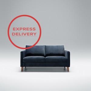 Express - Blade 2 seater sofa | Aquaclean Bellis Dark Blue