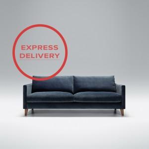 Express - Blade 3 seater sofa | Aquaclean Bellis Dark Blue