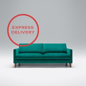 Express - Blade 3 seater sofa | Aquaclean Bellis Turquoise