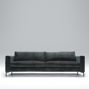 Blade 4 seater leather sofa
