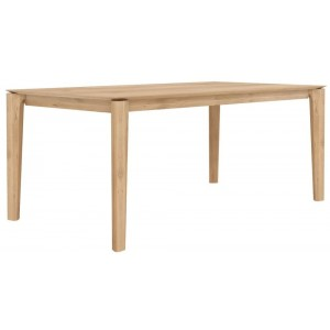 Ethnicraft Bok oak dining table 220
