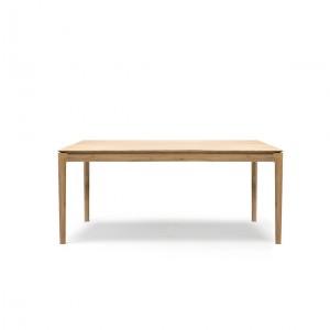 Ethnicraft Oak Bok extendable dining table - 160/240cm