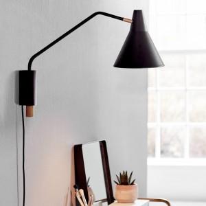 Bresson wall light - black