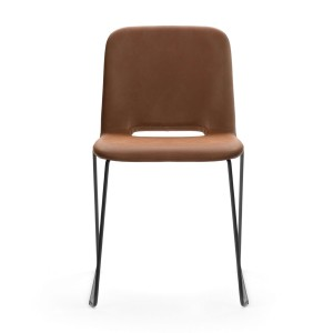 Clapton stackable chairs - metal base