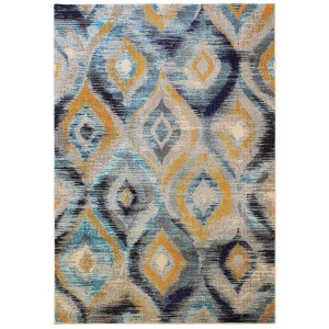 Cologne rug blue