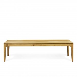 Zurich solid wood bench